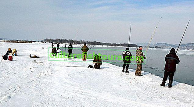 Риболов на открито през декември