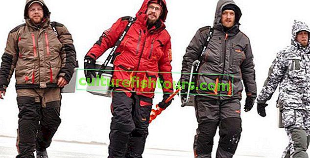 Вибір костюма для зимової риболовлі