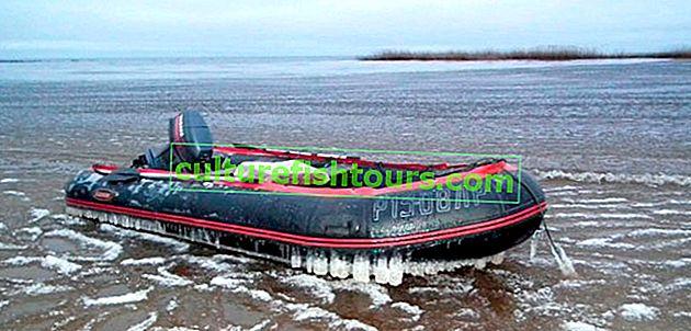 Ordnungsgemäße Lagerung eines PVC-Bootes im Winter