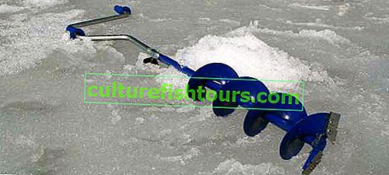 Kış balıkçılığı için matkap