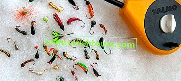 Chytací přípravky pro zimní rybolov