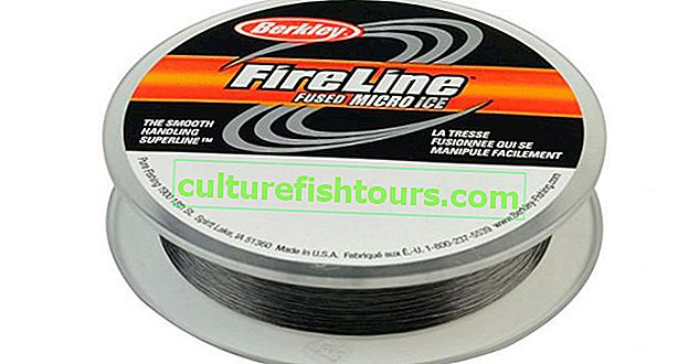 Originál Berkley FireLine Micro Ice Fused