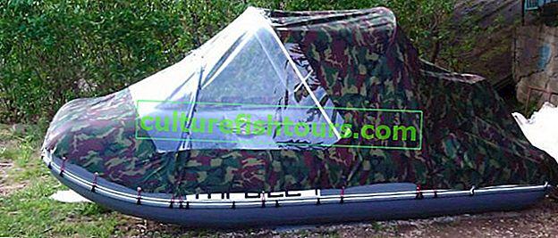 DIY PVC tekne çadırı