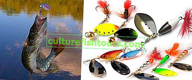 Риболов на щука с предене