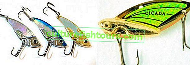 Спінінга приманка цикада (блейдбейт)