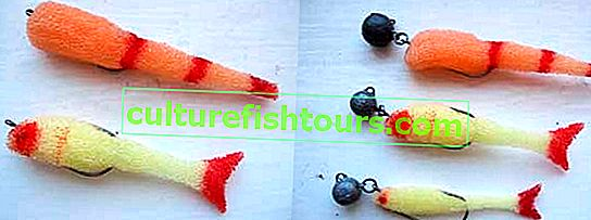 DIY pěnové ryby